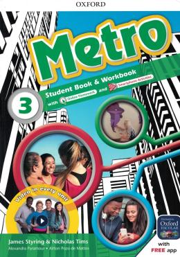 METRO 3 STUDENT´S BOOK AND WORKBOOK PACK - 1ST ED