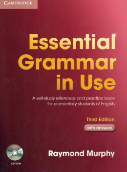 ESSENTIAL GRAMMAR IN USE WITH ANSWERS AND CD-ROM - THIRD EDITION