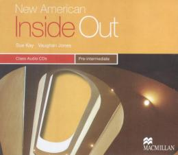 NEW AMERICAN INSIDE OUT PRE-INTERMEDIATE AUDIO CD - 2ND ED