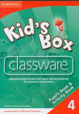 KIDS BOX 4 - CLASSWARE CD-ROM