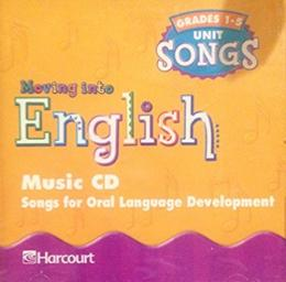 MOVING INTO ENGLISH - GRADE 1/5 - MUSIC CD