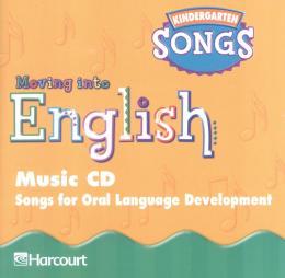 MOVING INTO ENGLISH - GRADE K - MUSIC CD