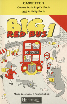 BIG RED BUS 1 - CASSETTE (PACK OF 2)