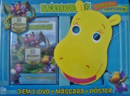 BACKYARDIGANS - 3ª TEMPORADA 3 EM 1 DVD + MASCARA + POSTER - FOTO DA TASHA