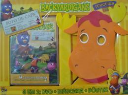 BACKYARDIGANS - 3 EM 1 DVD, MASCARA E POSTER