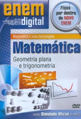 GEOMETRIA PLANA E TRIGONOMETRIA - DVD