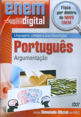 ENEM DIGITAL PORTUGUES - ARGUMENTACAO - DVD