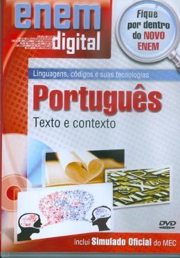 ENEM DIGITAL PORTUGUES - TEXTO E CONTEXTO - DVD