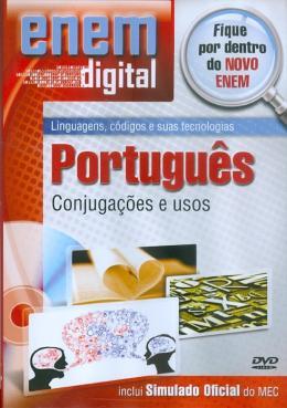 ENEM DIGITAL PORTUGUES - CONJUGACOES E USOS - DVD