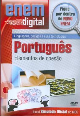 ENEM DIGITAL PORTUGUES - ELEMENTOS DE COESAO - DVD