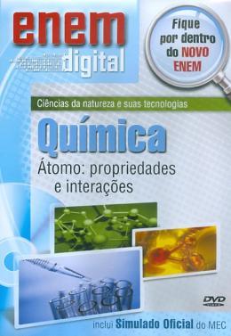 ENEM DIGITAL QUIMICA - ATOMO, PROPRIEDADES E INTERACOES - DVD