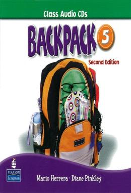 BACKPACK 5 CLASS AUDIO CD(2) SECOND  EDITION