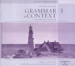 GRAMMAR IN CONTEXT 3 - AUDIO CDS (4)  - 4TH EDITION