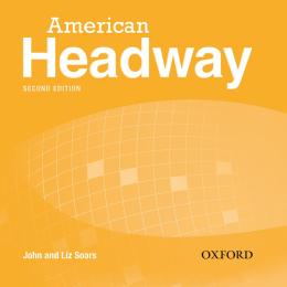 AMERICAN HEADWAY 2 CLASS CD (3) - SECOND EDITION