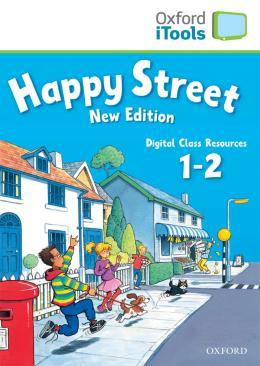 HAPPY STREET 1 & 2 ITOOLS CDROM NEW ED