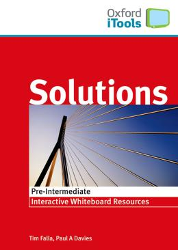 SOLUTIONS PRE INTERMEDIATE ITOOL CD-ROM