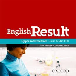 ENGLISH RESULT UPPER-INTERMEDIATE CLASS AUDIO CD - 1ST ED