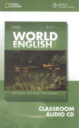 WORLD ENGLISH 3 CLASSROM AUDIO CD - 1ST ED