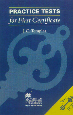 PRACTICE TESTS FOR FIRST CERTIFICATE - CASSETTE