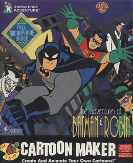 ADVENTURES OF BATMAN E ROBIN CARTOON (1)