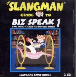 SLANGMAN GUIDE TO BIZ SPEAK 1 - AUDIO CD