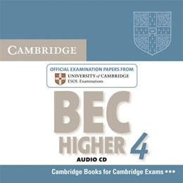 CAMBRIDGE BEC HIGHER 4 AUDIO CD