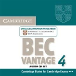 CAMBRIDGE BEC VANTAGE 4 AUDIO CDS