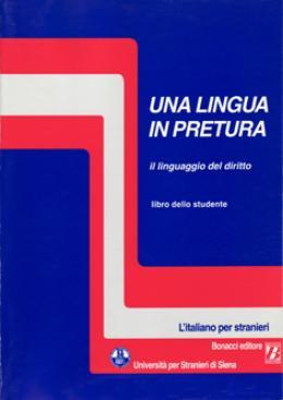 UNA LINGUA IN PRETURA - IL LINGUAGGIO DEL DIRITTO - CD