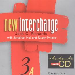 NEW INTERCHANGE 3A - STUDENT`S AUDIO CD