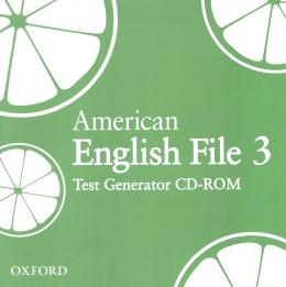 AMERICAN ENGLISH FILE 3 - TEST GENERATOR - CDROM - 1ST ED