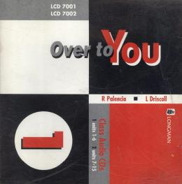 OVER TO YOU 1 - CLASS AUDIO CD (PACK OF 2)