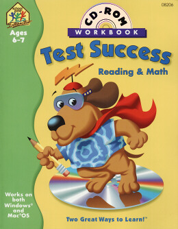 TEST SUCCESS READING & MATH CD-ROM W/WB