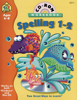 SPELLING 1-2 CD-ROM WITH WORKBOOK (1)