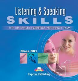 LISTENING AND SPEAKING SKILLS FOR CPE 1 CD N/E