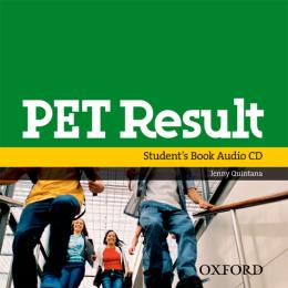 PET RESULT - AUDIO CD