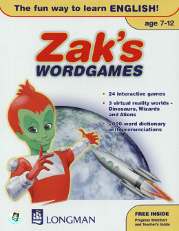 ZAK`S WORDGAMES  CD-ROM (AGE 7-12) (1)