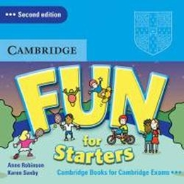 FUN FOR STARTERS CD - SECOND EDITION