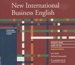 NEW INTERNATIONAL BUSINESS ENGLISH AUDIO CD SB