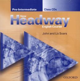 NEW HEADWAY ENG.COUR.PRE-INT.CLASS CD(2)