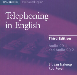 TELEPHONING IN ENGLISH  CD (2) THIRD EDITION