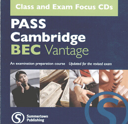 PASS CAMBRIDGE BEC VANTAGE - CLASS AND EXAM AUDIO CD (PACK OF 2)