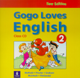 NEW GOGO LOVES ENGLISH 2 - CLASS AUDIO CD
