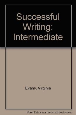 SUCCESSFUL WRITING INTERMEDIATE CS (1)