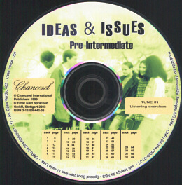 IDEAS & ISSUES - PRE-INTERMEDIATE - AUDIO CD