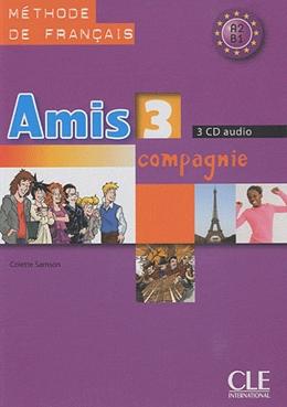 AMIS ET COMPAGNIE 3 - CD AUDIO CLASSE (3) - IMPORTADO