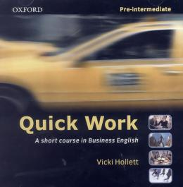 QUICK WORK PRE-INTERMEDIATE - CD