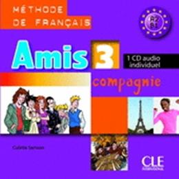 AMIS ET COMPAGNIE 3 - CD AUDIO INDIVIDUEL - IMPORTADO