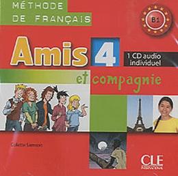AMIS ET COMPAGNIE 4 (B1) - CD INDIVIDUEL - IMPORTADO