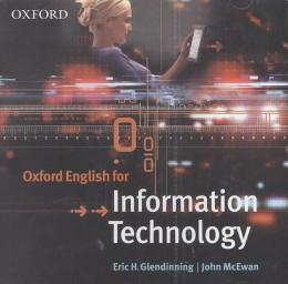 OXFORD ENGLISH FOR INFORMATION TECHNOLOGY AUDIO CD (1) - 1ST ED