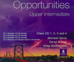 OPPORTUNITIES UPPER INTERMEDIATE - CLASS AUDIO CD (PACK OF 4)
